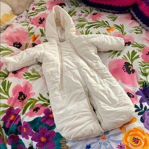 Baby CZ Snow White Hooded Bunting | Medium 6-12M